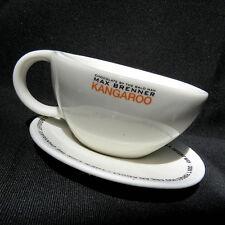 Max Brenner Kangaroo Cup & Saucer Set Coffee Hot Cocoa Rare Iris Zohar