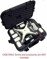 DJI Phantom 4/Adv/PRO/PRO+/PRO V2 Waterproof Case Fit Extra Batteries Propellers
