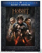 THE HOBBIT: THE BATTLE OF THE FIVE ARMIES EXTENDED EDITION 3 DISC BLU-RAY - NEW
