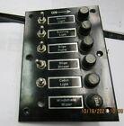 New Boat Dash Switch Panel Anchor-running Light-bilge-blower-cabin -windshield