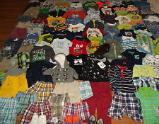 Huge 103pc Baby Boy's Clothing Lot sz 0-6-12 month newborn Gymboree Carter's Gap