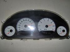 05 CARAVAN INSTRUMENT CLUSTER SPEEDOMETER MPH WHITE FACE WITH TACHOMETER