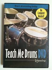 Teach Me Drums - Drum Tutorial by Voyetra (DVD, 2003) (eb6)