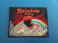 Rainbow Rising Sew or Iron On Patch
