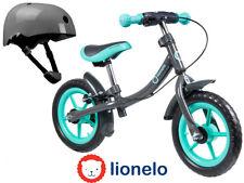 Qualitäts Laufrad 12 Zoll Kinderlaufrad Roller Scooter Turquoise + Helm