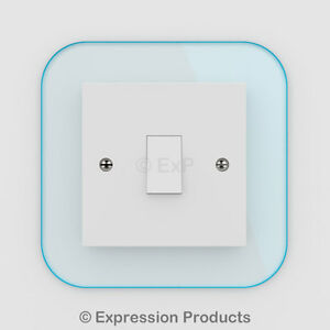 Single / Double Light Switch / Plug Socket Back Plate Finger Surround Panel 002