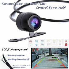Car Rear Forward View CCD vision Backup Side Parking Front HD Camera waterproof