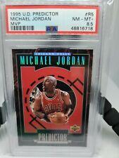 1995 Upper Deck Michael Jordan Predictor MVP PSA 8.5 NM-MT+