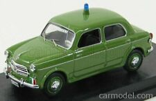 Rio-models 4277 scala 1/43 fiat 1100/103 t.v. carabinieri - police 1955 green