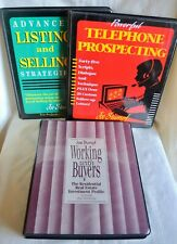 3 Vintage Joe Stumpf Real Estate Course Guide Cassettes
