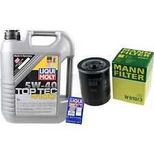 LIQUI MOLY 5L 5W-40 Motor-Öl+MANN-FILTER Filterpaket Alfa Romeo Mito 955_ 1.4