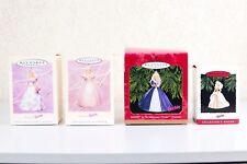 Hallmark Barbie Keepsake Ornaments Collector's Series Christmas Holidays Lot