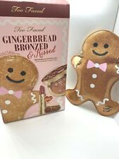 Too Faced GINGERBREAD BRONZED and KISSED - Authentic, New/boxed ~ LMTD ~ RARE