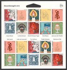 Nederland NVPH 3588-97 Decemberzegels 2017 Postfris