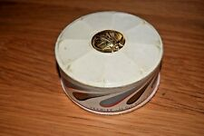 TRUE VINTAGE YARDLEY COMPLEXION POWDER BOX GOLD BEE WITH PRODUCT