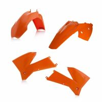 Set Plastique Carénage Acerbis KTM EXC / Excf 2005 - 2007 Couleur Orange 0008193