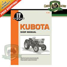 kubota tractor manuals for for sale ebay kubota wiring schematic itk201 new shop manual for kubota models l175, l210, l225, l225dt