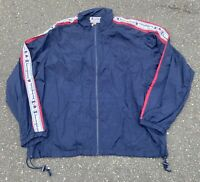 Vintage 90's Champion All Over Print Long Sleeve Track Jacket Size XXL