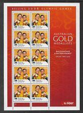 2008 Olympics No10  Mini Sheet Complete MUH/MNH from Australia Post