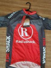 Livestrong Radio Shack Trek Cycling Bike Racing Athletic Jersey BONTRAGER Med