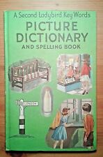 Vintage Matt Ladybird Book Key Words Picture Dictionary Spelling KS1 Age 5-7 Yrs