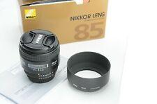 Nikon AF Nikkor 85mm f/1.8 D, ovp (box) TOP
