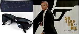 DANIEL CRAIG OWNED SIGNED Vuarnet Legend 06 sunglasses James Bond No Time To Die