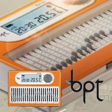 BPT Cronotermostato Giornaliero BPT TH/125 Batt 3x1,5V AAA
