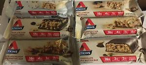 100 Assorted Atkins Bars (see description)