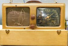 "1941 Zenith Model 6G601M Portable Radio Wave Magnet ""Sailboat"""
