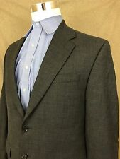 Lauren Ralph Lauren Sport Coat Gray Knitted 2 Button Single Vent Men's 41R