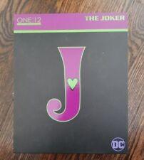 """ONE:12 COLLECTIVE THE JOKER ACTION FIGURE DC COMICS MEZCO 17cm / 6.5"""""""