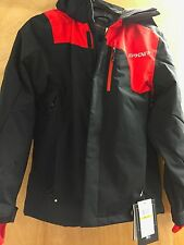 Spyder black red thinsulate banish ski snowboard jacket NEW nwt srp $300!! small