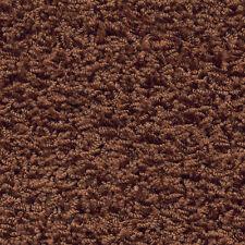 Associated Weavers Harlem Cognac Brown Long Pile Saxony Carpet Remnant 3m x 5m