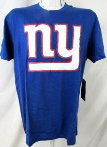 New York Giants Men L XL or 2XL Short Sleeve Screened BIG NY T-shirt AGIA 313