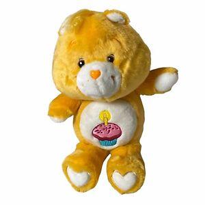 Care Bear Birthday Cupcake Orange Bear Plush 13 Inches