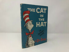 The Cat in the Hat by Dr. Seuss HC First 1st Very Good VG Hardcover 1957