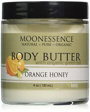 Moonessence Body Butter Orange Honey with Organic Green Tea 4 Oz Glass jar