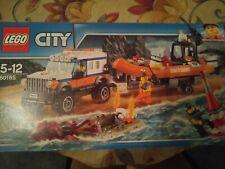 Lego City Cost Guard Jeep And Rescue Boat 60165