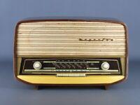MAGNAFON FM 207 VINTAGE RADIO A VALVOLE IN LEGNO ANNI '50 NON FUNZIONANTE