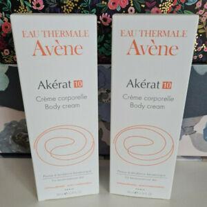 2 x Avene Akerat 10 Body Cream 200ml.