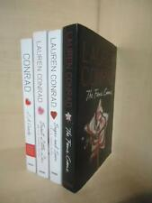 LAUREN CONRAD - 4 BOOKS - L.A. CANDY COMPLETE SERIES, THE FAME GAME