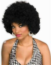 New Mens Womens Child Costume Black Afro Clown Wigs