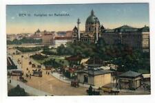 AK Wien IV, Karlsplatz, Karlskirche, Stadtbahn-Bahnhof, 1925