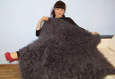Russian Cashmere Longhair Angora Shawl 100% Goat Fluff. Luxury up 140*140