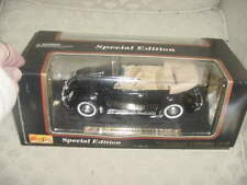 "Maisto Special Edition Diecast Model ""1951 Volkswagen Cabriolet""1:18, MIB"