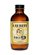 Layrite No. 9 Aftershave 4 oz Styling Bay Rum Barber Beard Shave Soothe Protect