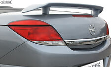 RDX SPOILER POSTERIORE OPEL ASTRA H TwinTop poppa ala posteriore Spoiler ala posteriore Wing
