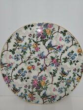 "Vintage Royal Tudor Ware Barker Bros England 11"" cake plate  Loena Doone Chintz"