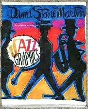 JAZZ GRAPHICS ~ DAVID STONE MARTIN ~ by MANEK DAVER ~ 1st PRINTING ~ ILLUS ~ SC